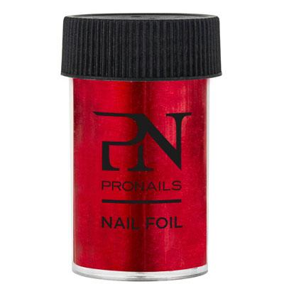 Nail Foil Red 1.5 m